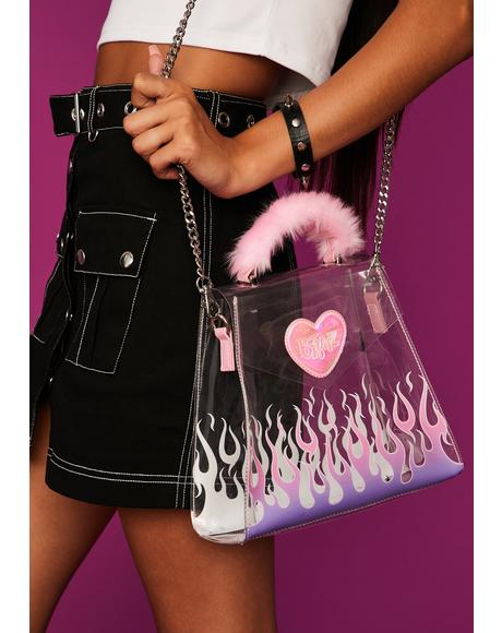 All The Rage Clear Crossbody