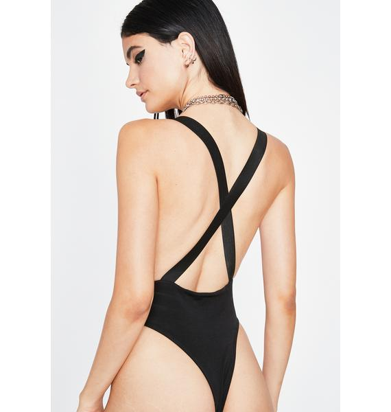 Hold On Tight Buckle Bodysuit