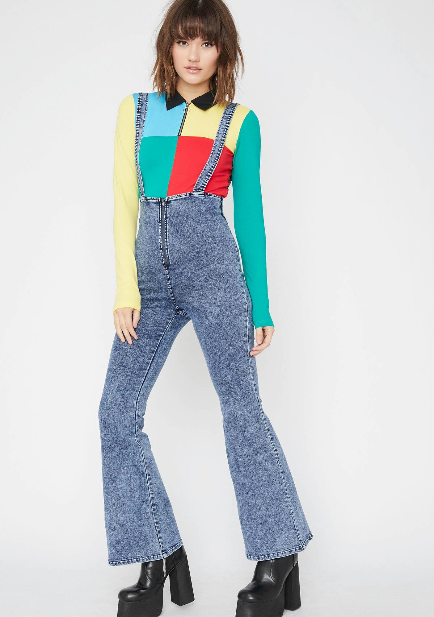 Boogie Down Suspender Flares