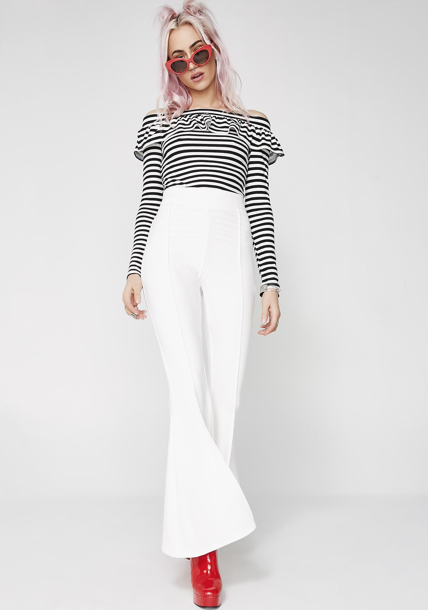 Bad Bandit Stripe Top