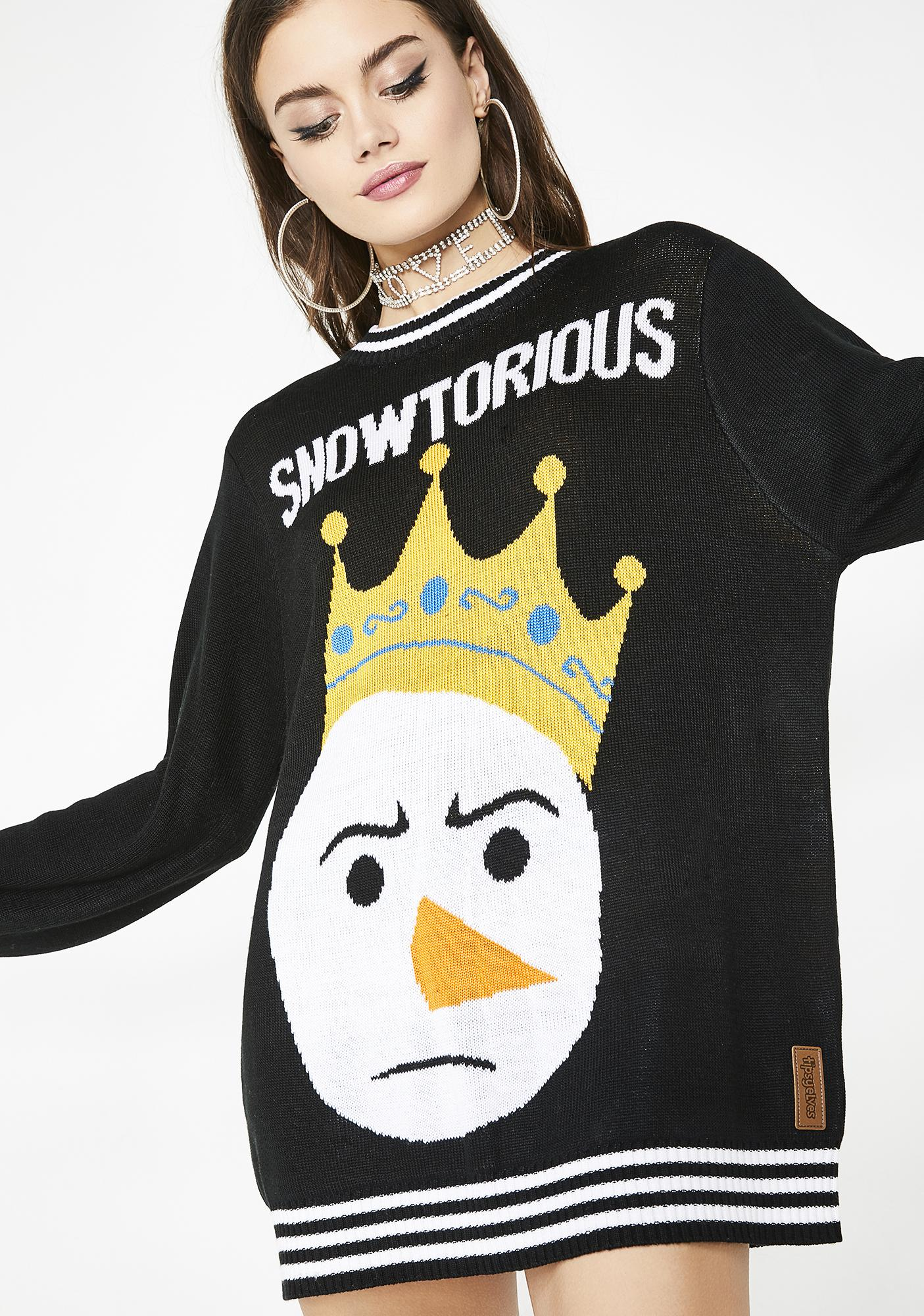 Tipsy Elves Snowtorious Sweater