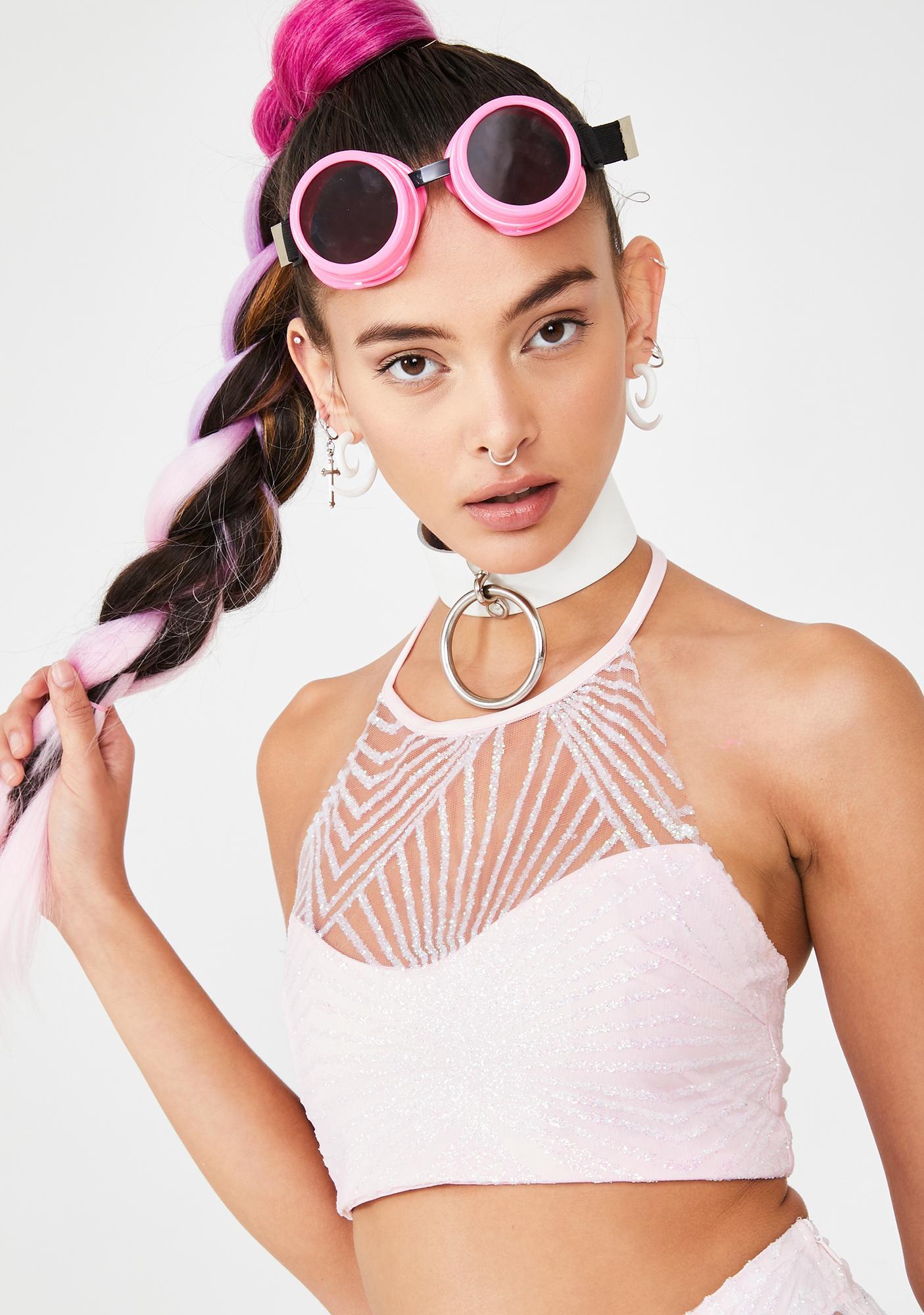 Glamorous Playful Pixie Crop Top