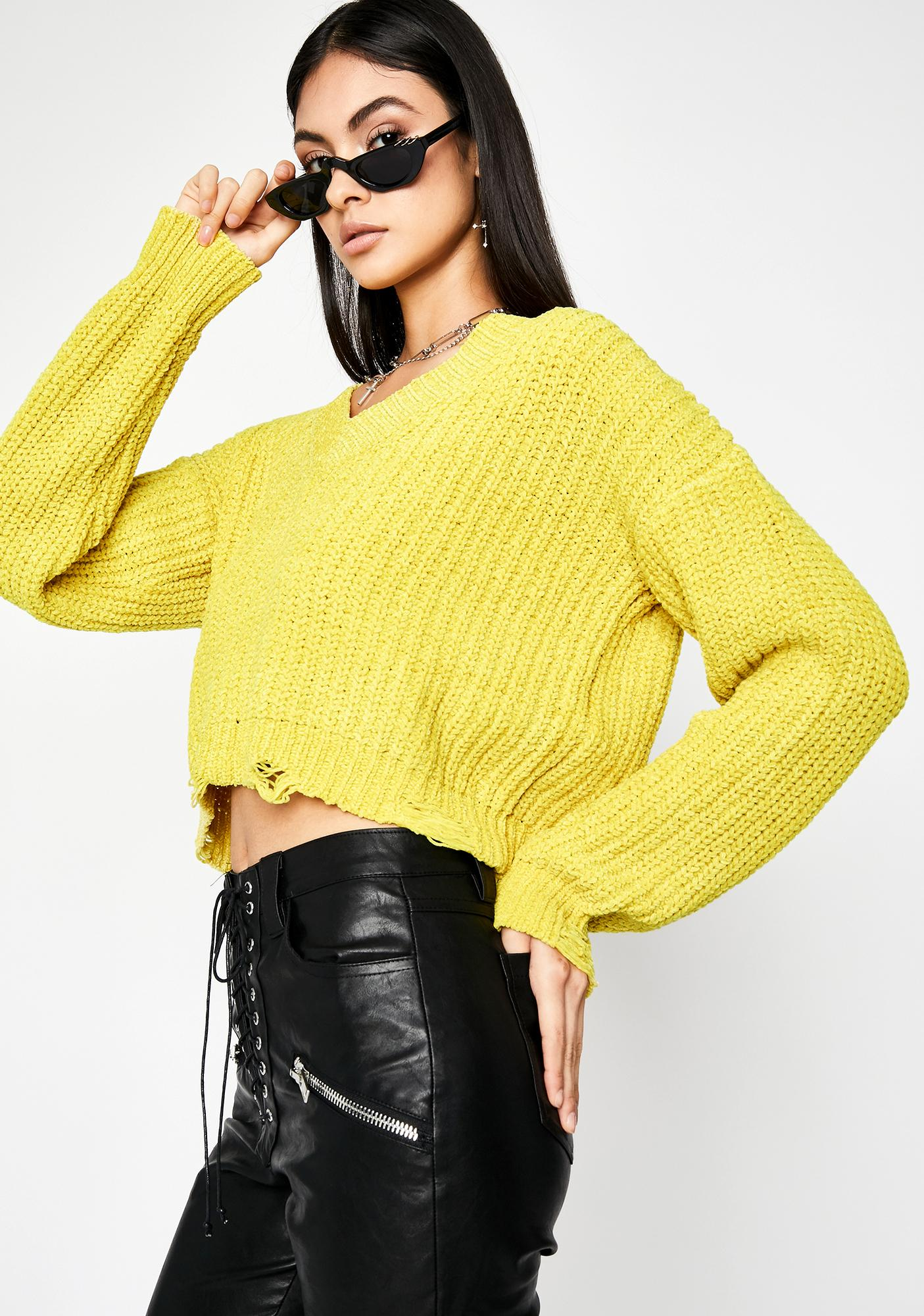 Impossibly Cute Knit Sweater