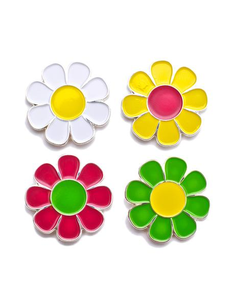 Flower Pin Set