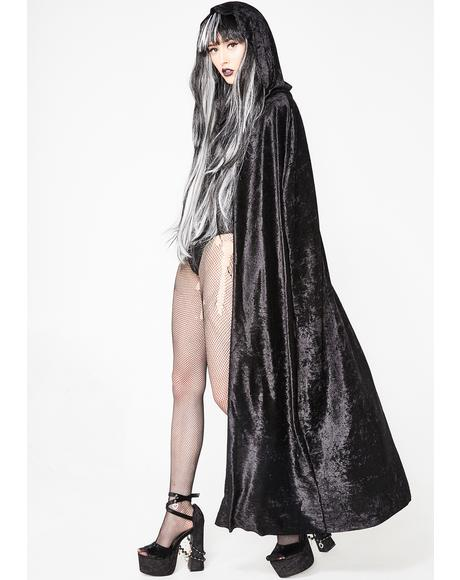 Practical Magick Velvet Cape