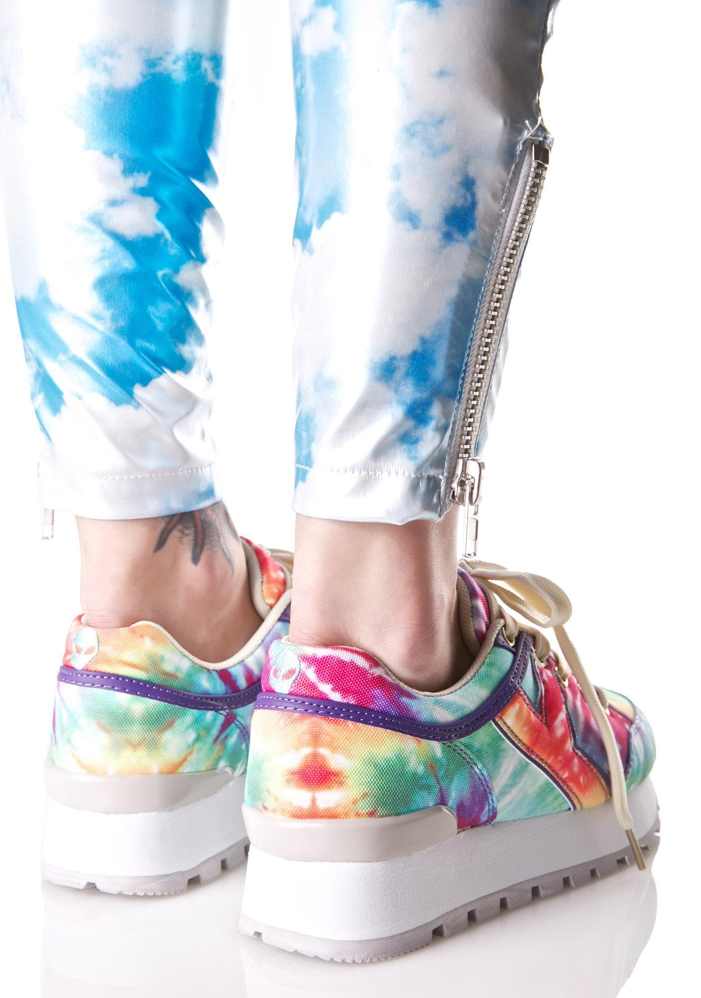 18b494f325f1 ... Y.R.U. Tune Rainbow Tie Dye Sneakers ...