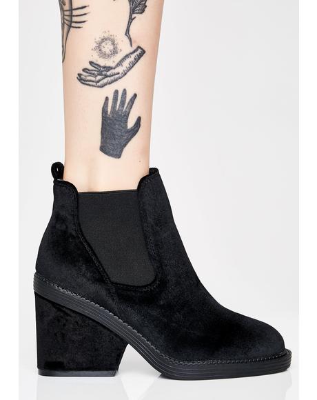 Mystic Vixen Velvet Boots