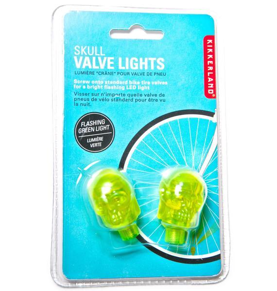 Screamin' Skull Valve Lights