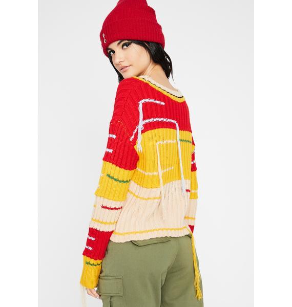 Kidz Aren't Alright Knit Sweater