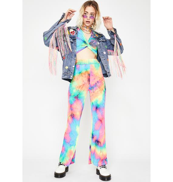 Tie Dye Unforgettable Ribbed Set