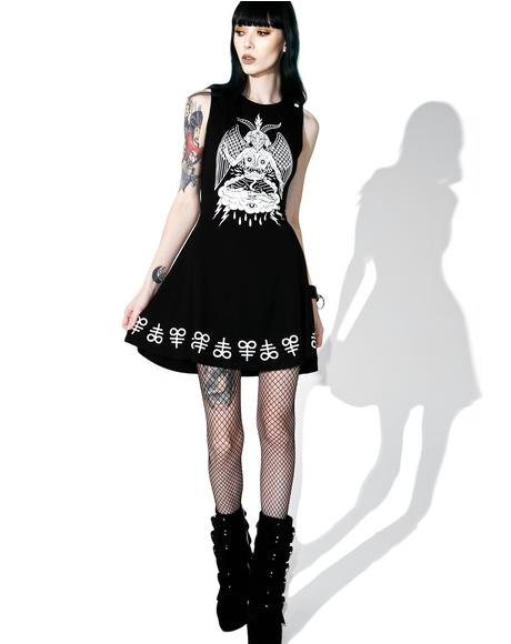 In Like Sin Skater Dress
