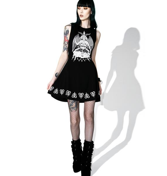 Killstar In Like Sin Skater Dress