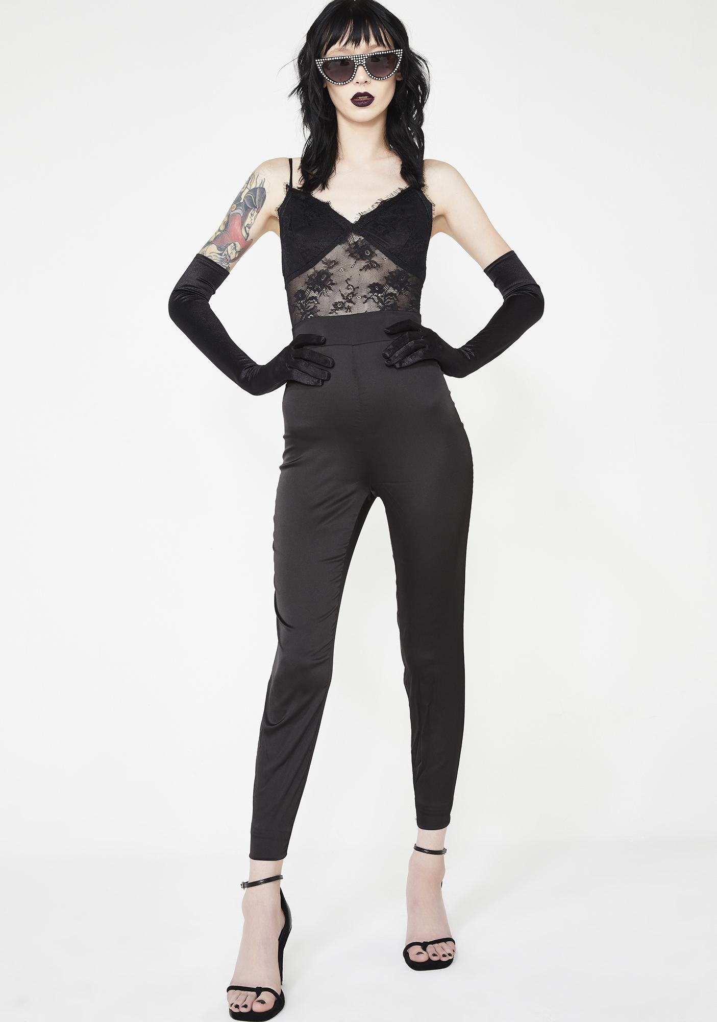 Aim To Kill Lace Jumpsuit