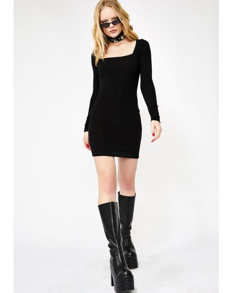 Dark Burning Angst Mini Dress