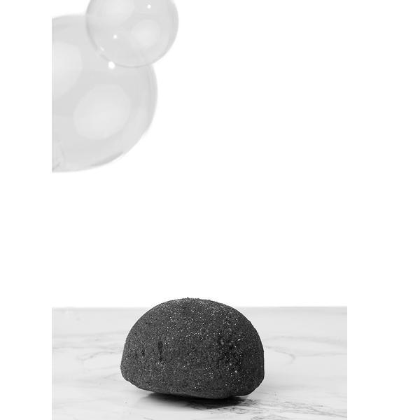 Black Heart Glittery Bath Bomb
