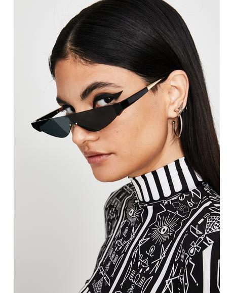 Sinnin' Sleek Chic Cat Eye Sunglasses