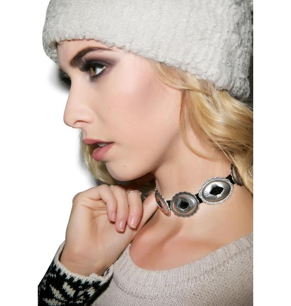 Vanessa Mooney Charlotte Mae Silver Choker