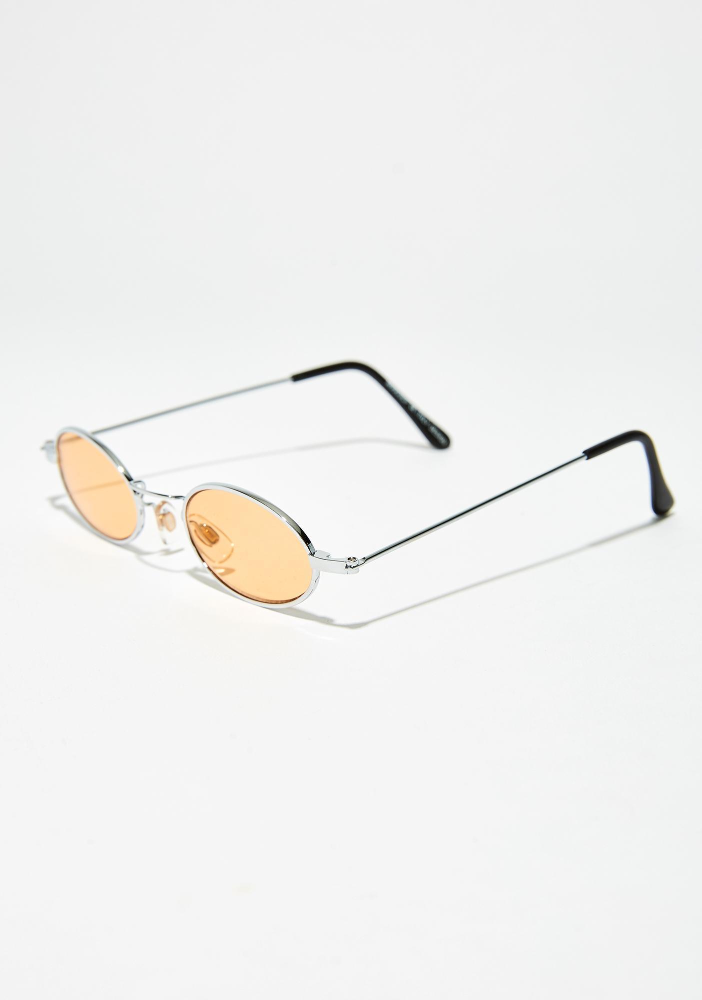 Beach Side Eye Lewks Round Sunglasses