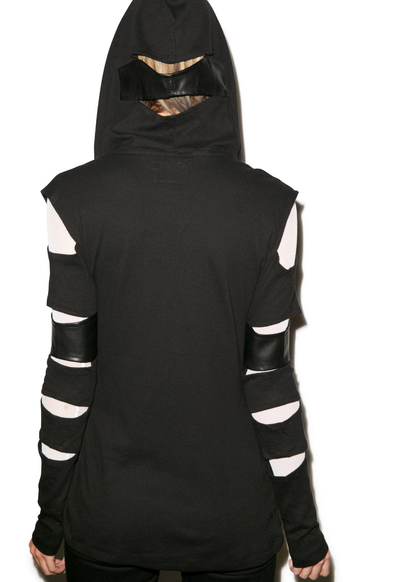 Tripp NYC Slash Sleeve Hoodie