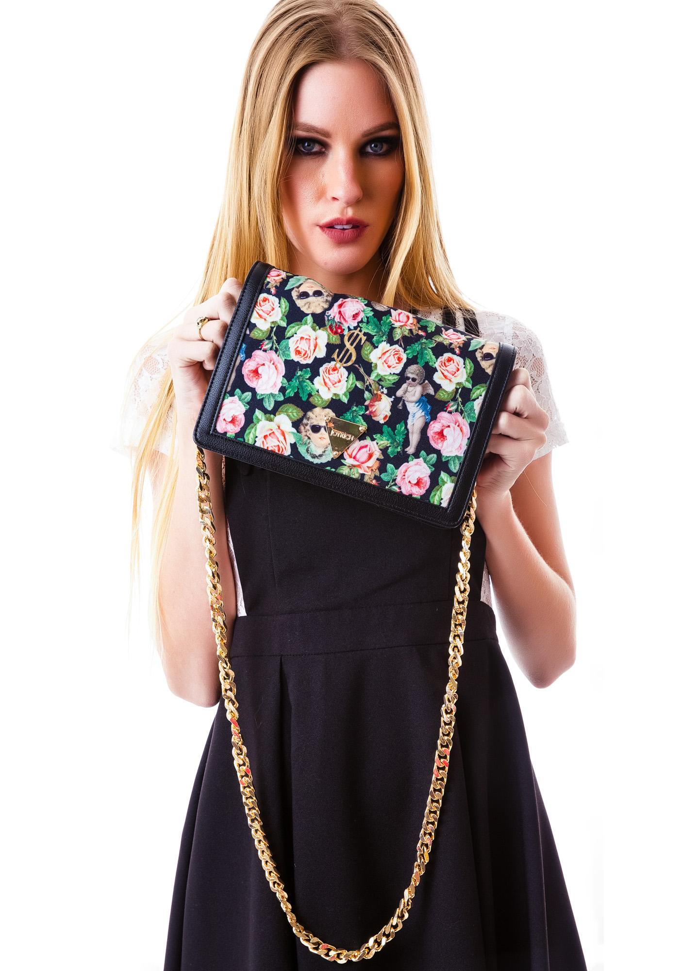 Joyrich Angelic Rich Floral Shoulder Bag