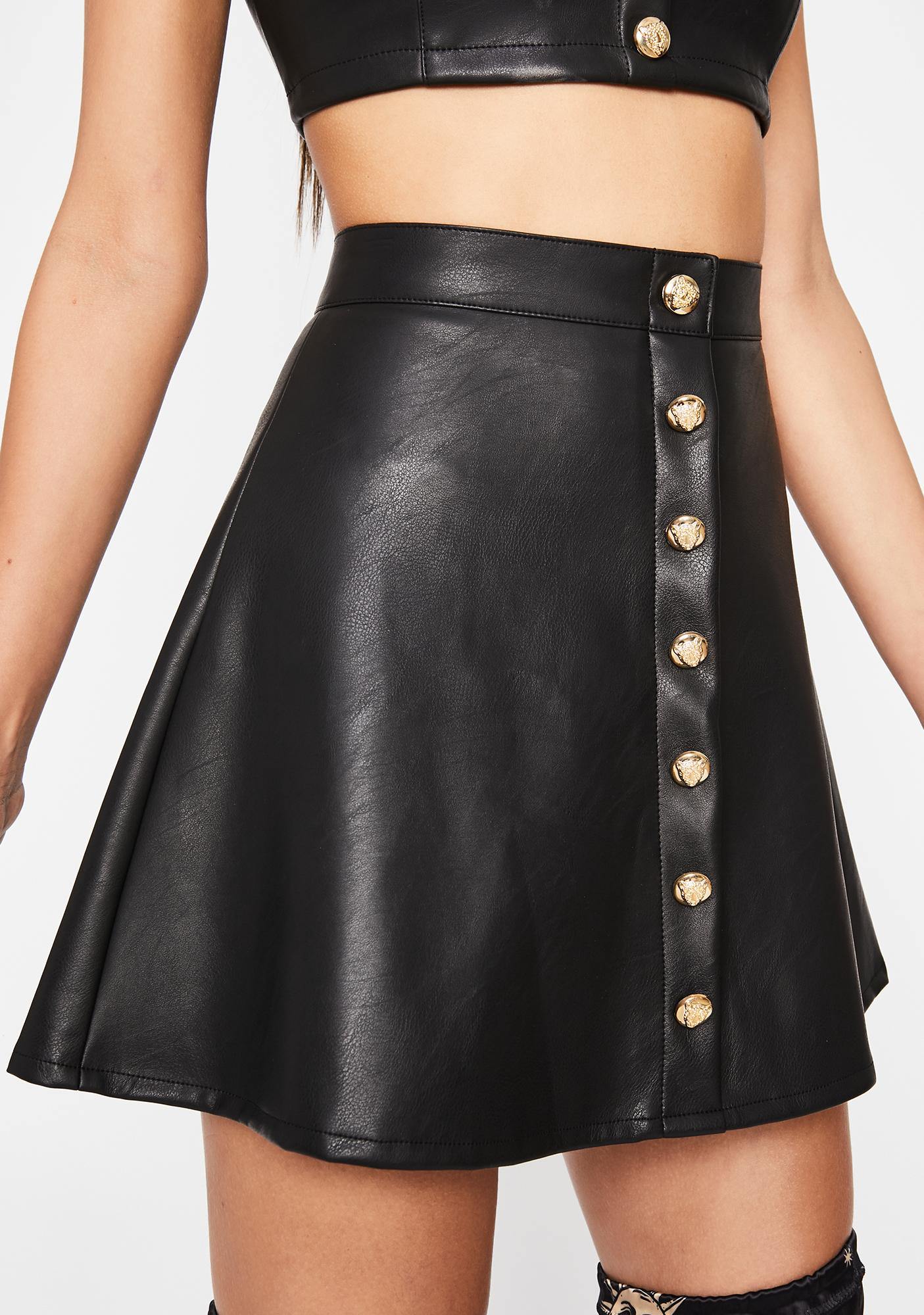 HOROSCOPEZ Lion Hearted Skater Skirt