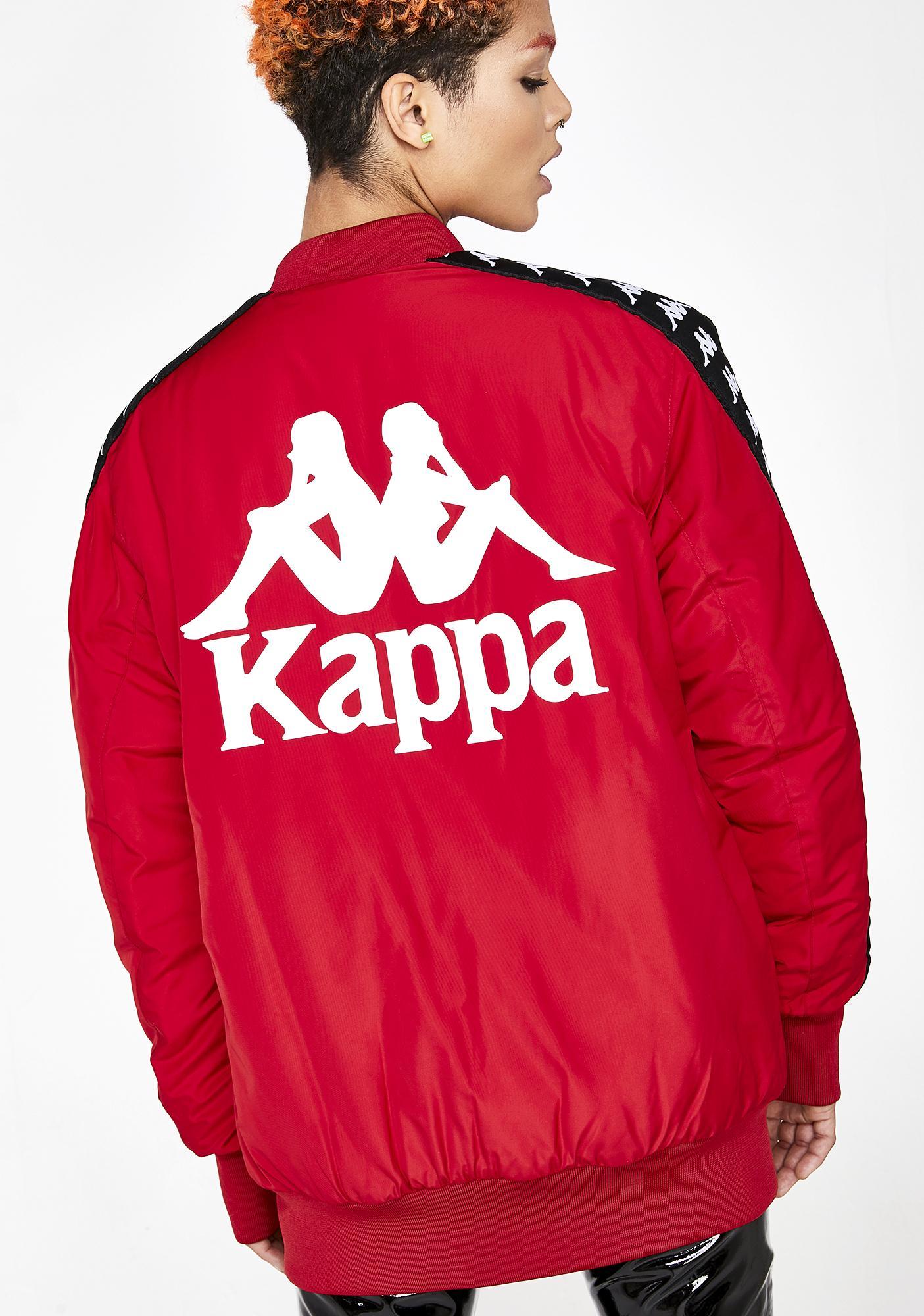 Kappa 222 Banda Bzalmont Bomber Jacket