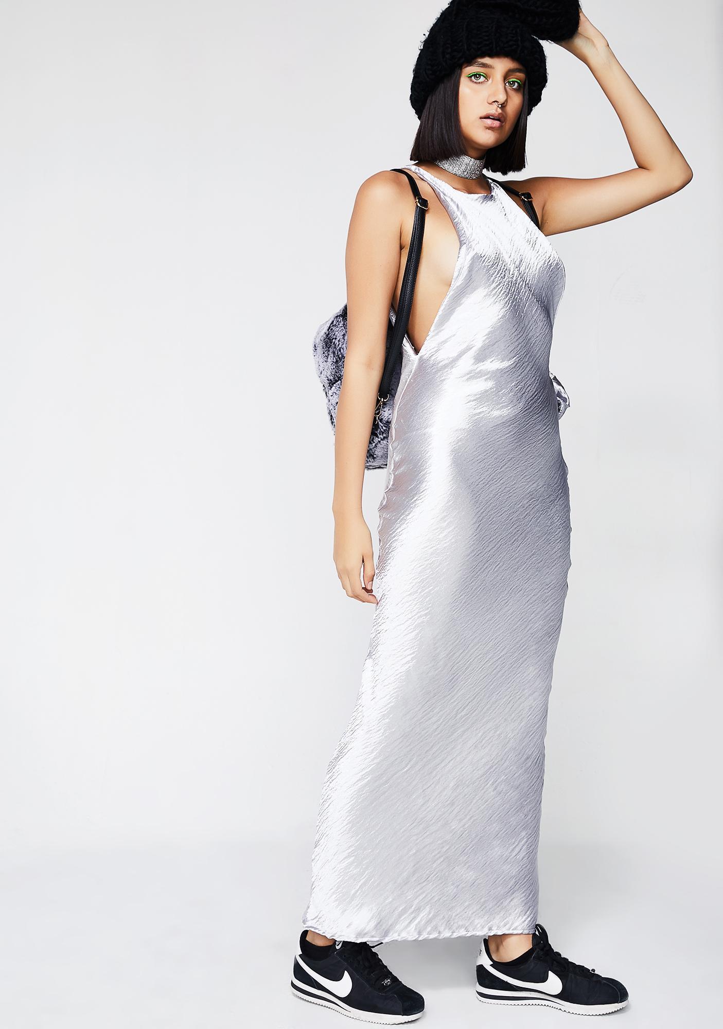 Kiki Riki Silky Feels Maxi Dress