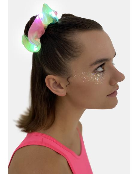 Neon Energy Light Up Scrunchie