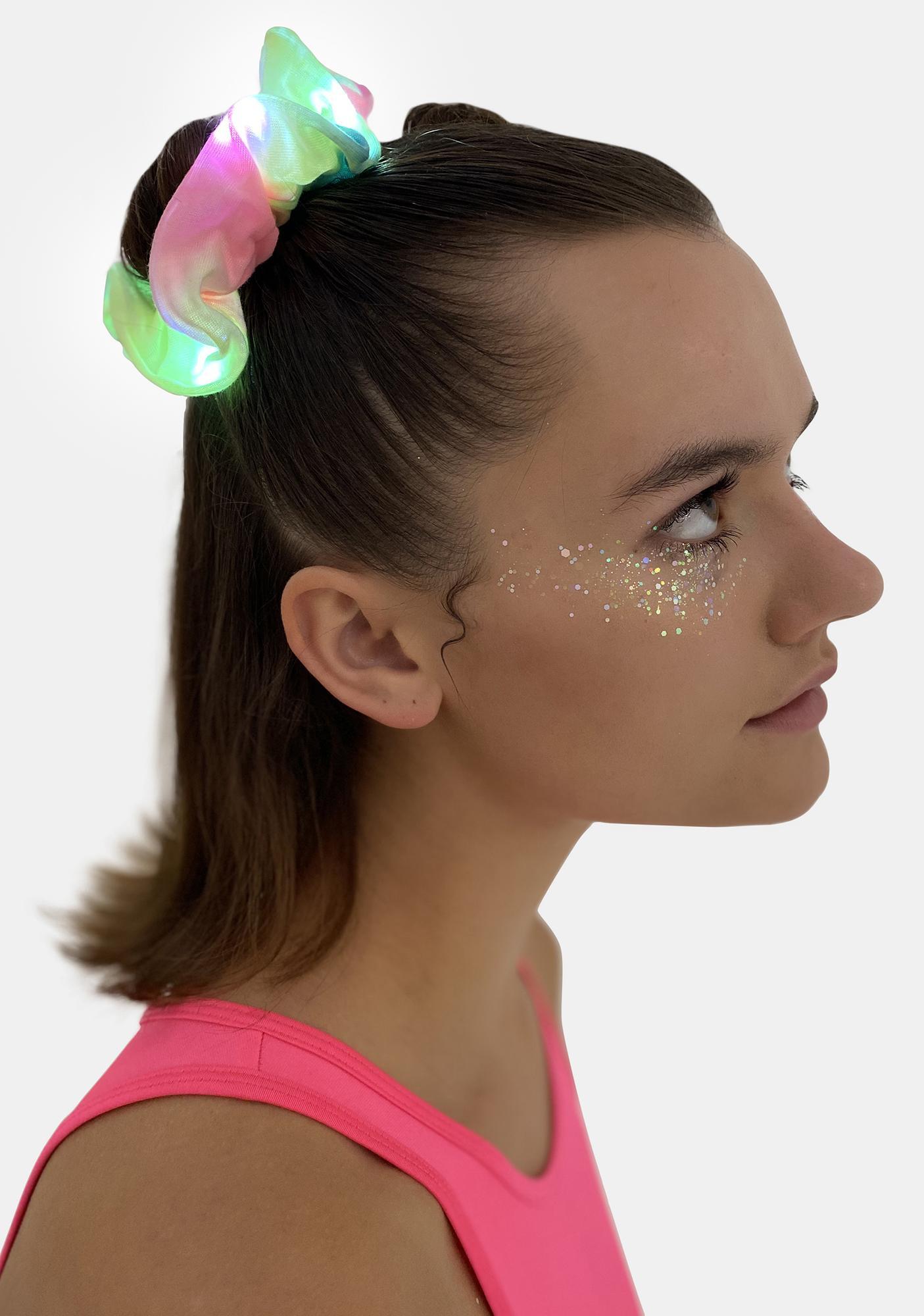 Neon Energy Light Up Scrunchie