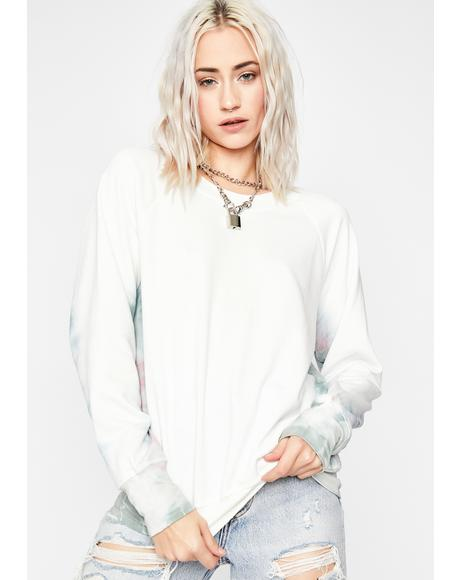Baby I'm Dyin' Tie Dye Sweatshirt
