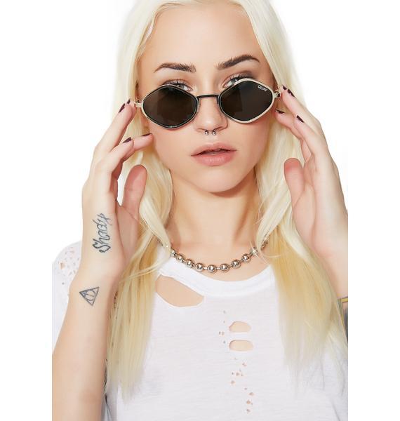 Quay Eyeware x Kylie Purple Honey Sunnies