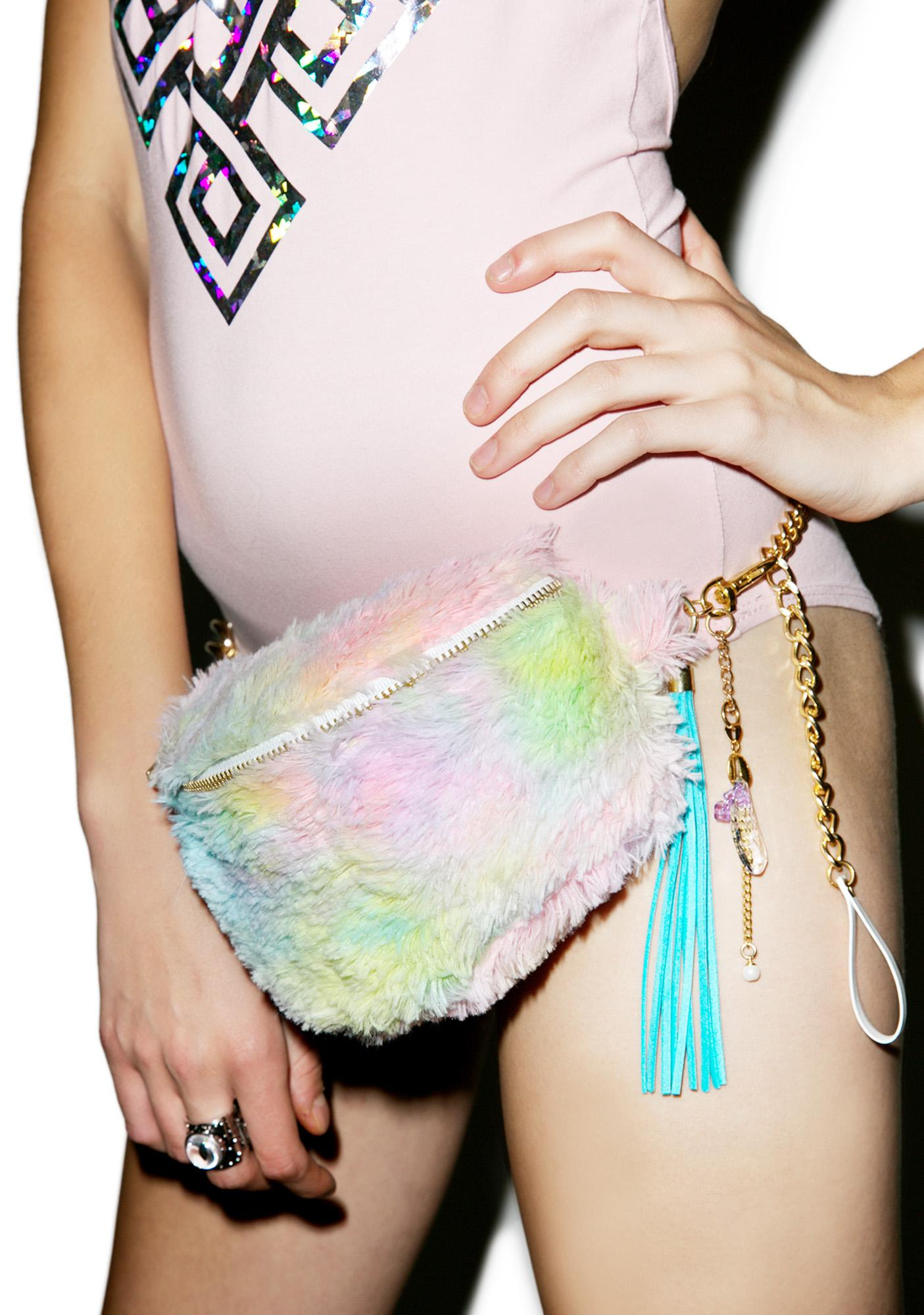 Cotton Candy Fanny Pack
