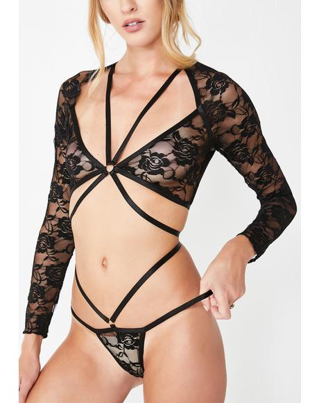 Harness Your Body Sheer Lace Set