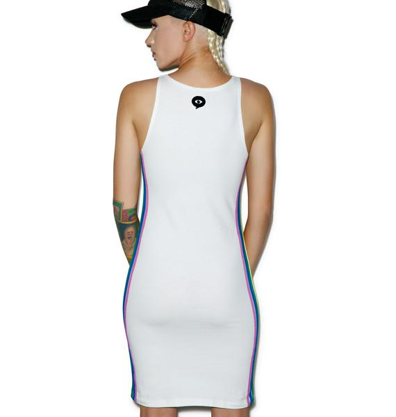 Illustrated People Carnival Cut Out Dress