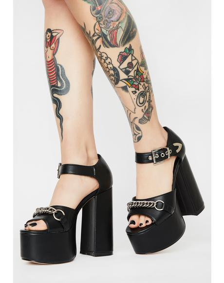 High Demands Block Heels