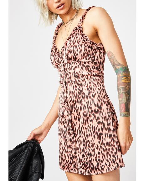 Cute N' Catty Leopard Dress