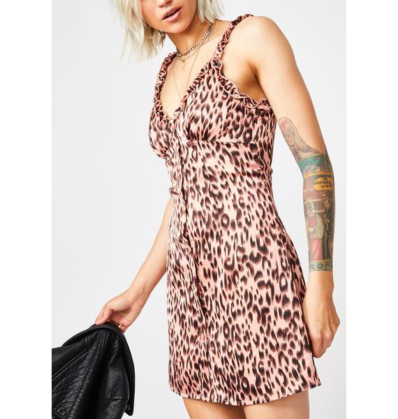 Cute N' Catty Leopard Dress