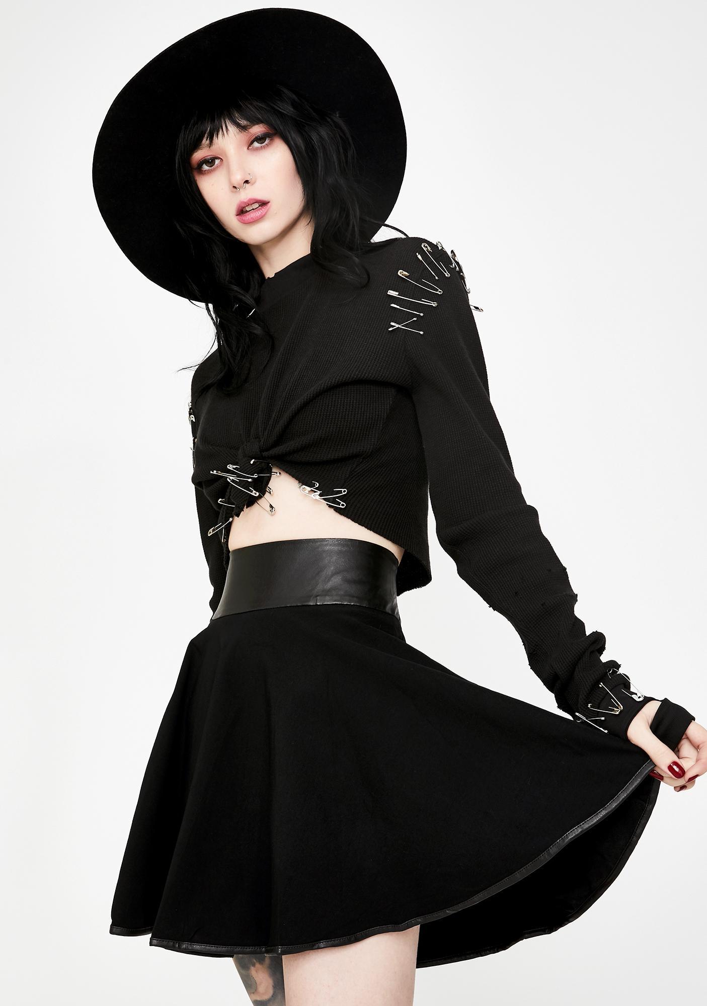Necessary Evil Pandora Mini Skirt