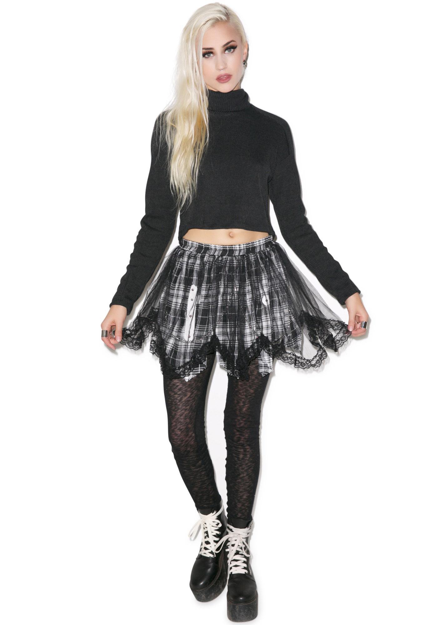 Playtime Plaid Skirt
