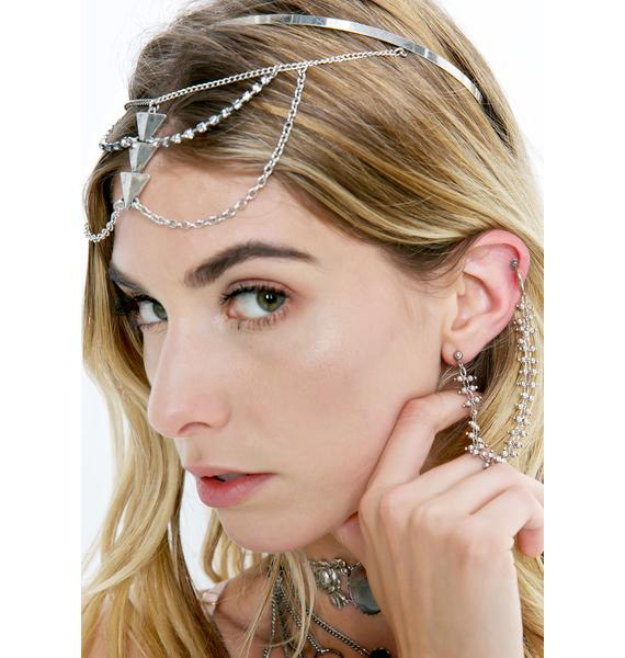 Regal Rose Sienna Chained Nose Clip