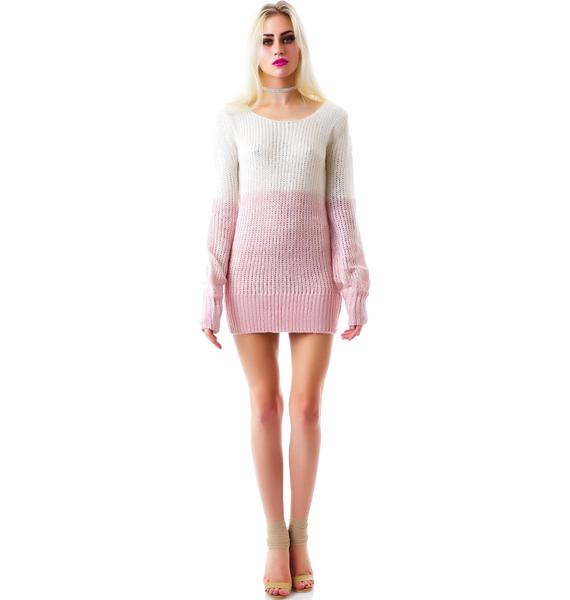 Peaches n' Cream Knit Sweater