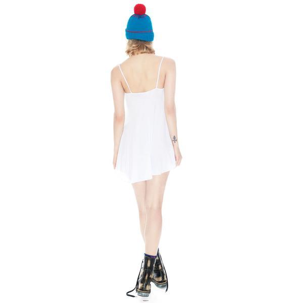 Wildfox Couture Texas Broke Mah Heart Slip Dress