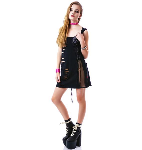 Tripp NYC Slash Dress