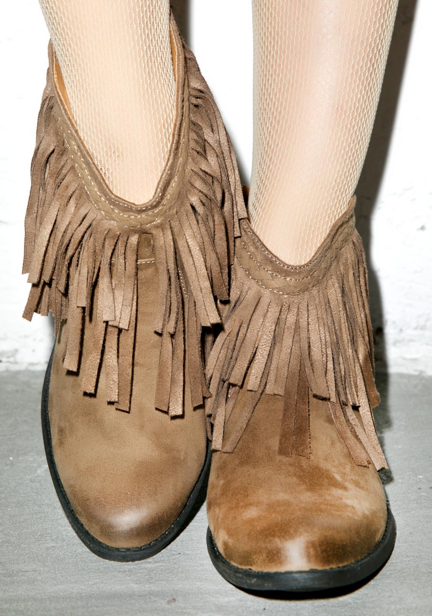 Cowgirl Sochi Booties