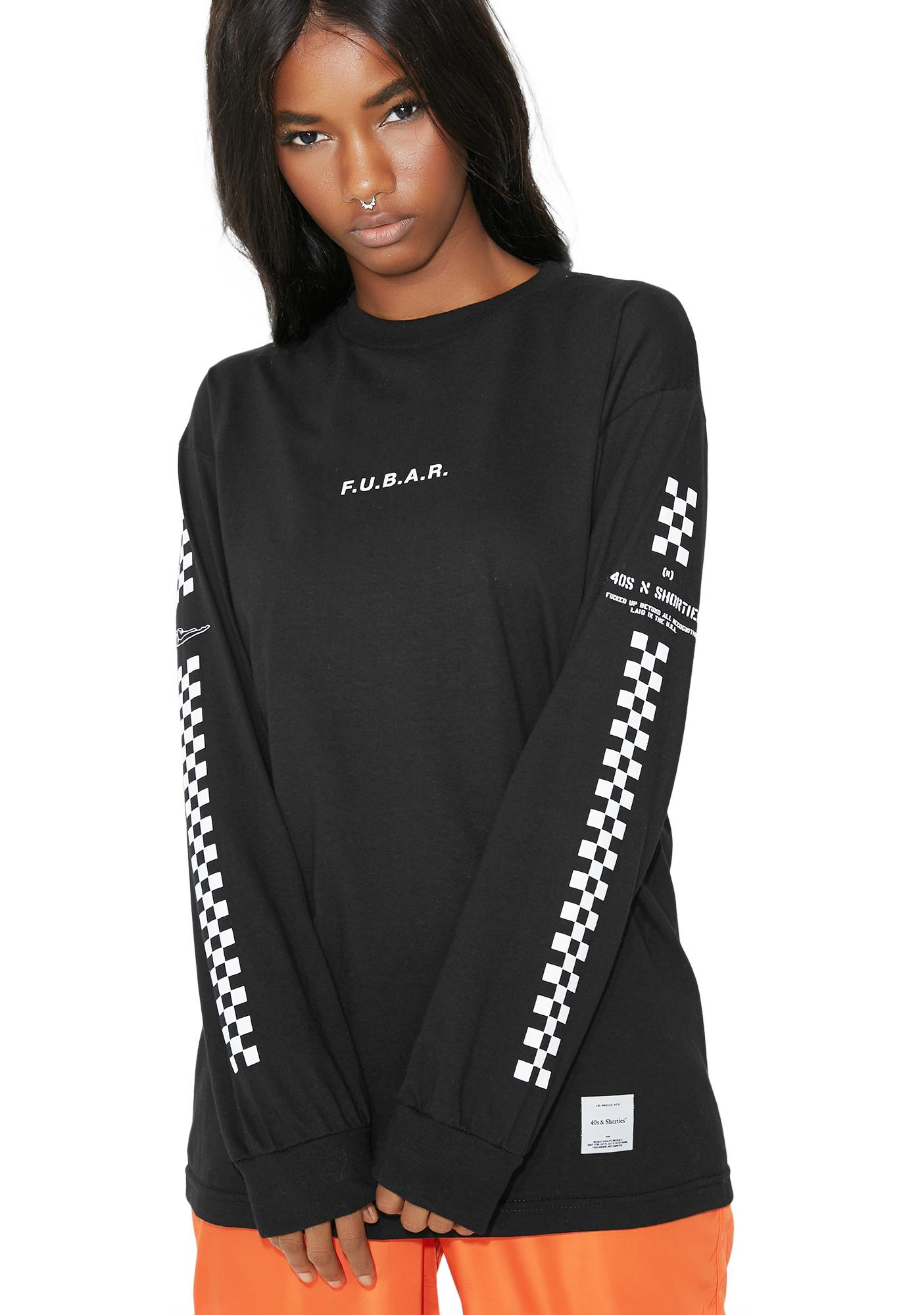 40s & Shorties F.U.B.A.R. Long Sleeve Tee