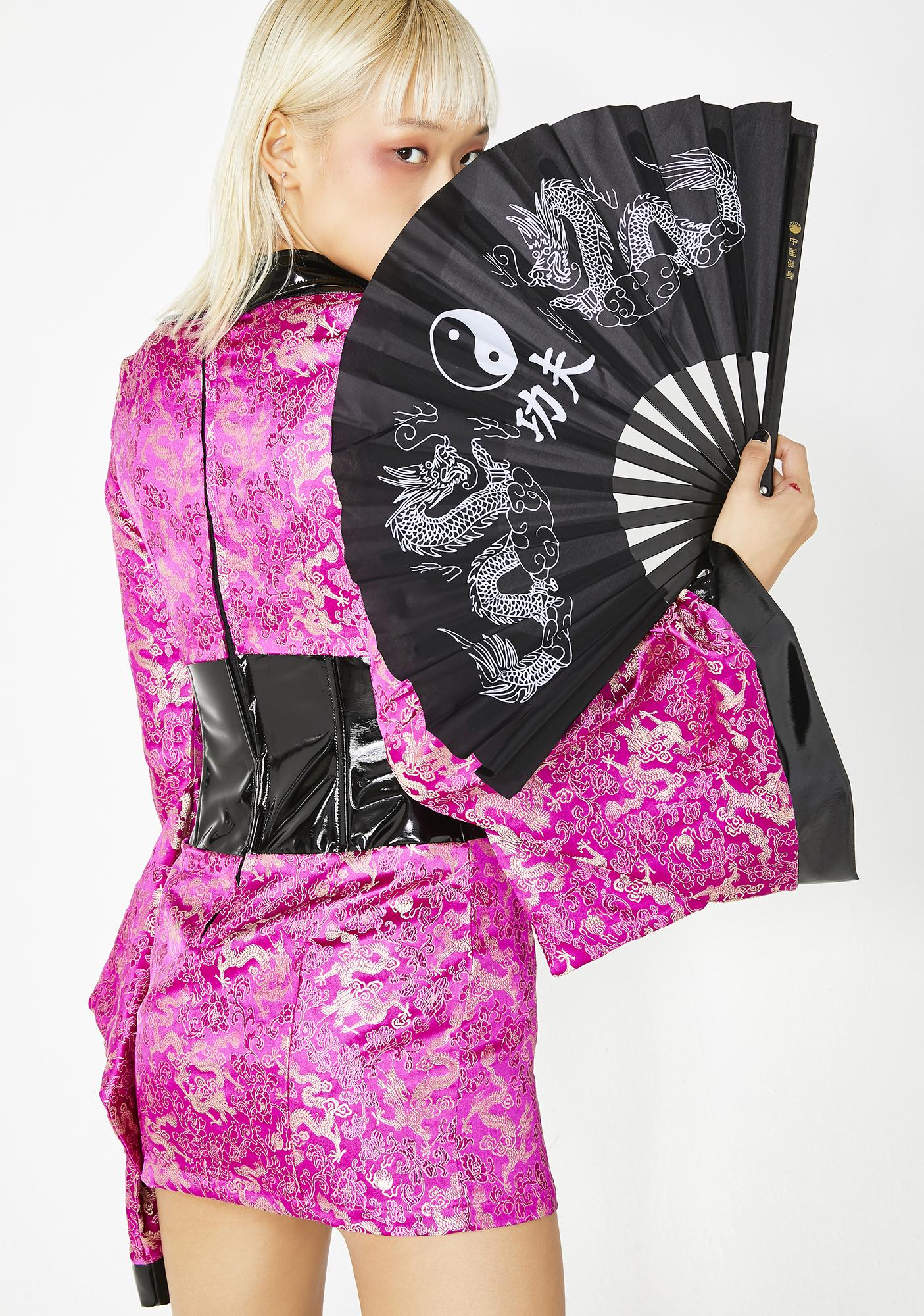 Dolls Kill Eternal Flower Warrior Costume Set