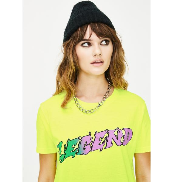 ILL INTENT Green Legend Graphic Tee