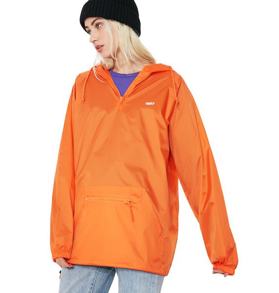 Obey Anorak Pullover Jacket