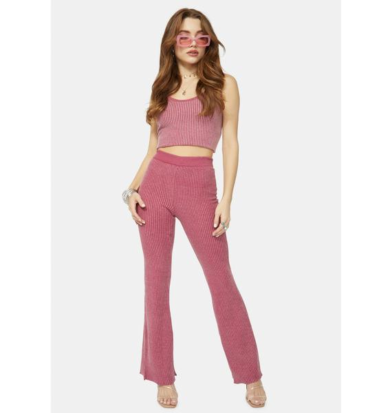 Wildfox Couture Cora Ribbed Pants
