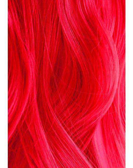 UV Reactive 330 Neon Red Hair Dye